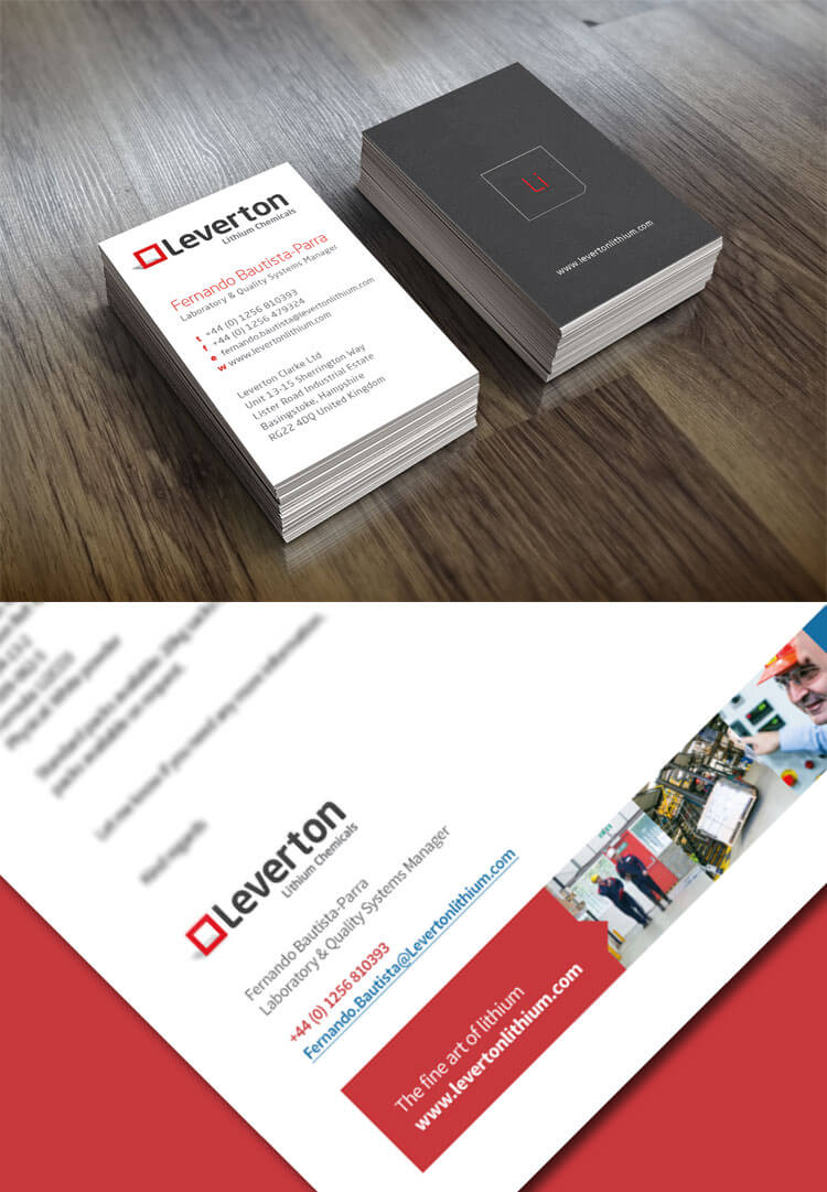 Leverton Business Cards 2
