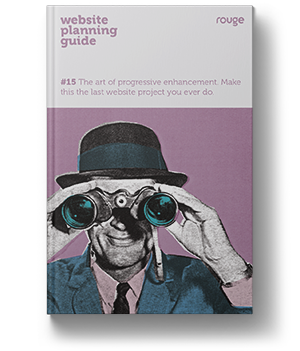 front cover of a book showing a man looking through binoculars