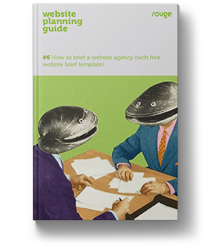 front cover of a book showing two clams talking across a table in business suits